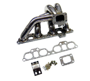 Nissan 240SX SR20DET -Stainless steel turbo exhaust manifold: