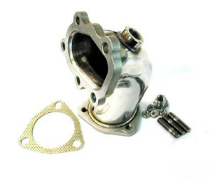 NISSAN 240SX 89-98 SR20DET S13 OR S14 - STAINLESS STEEL TURBO OUTLET