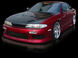 Origin Lab Stylish Body Kit - 95 - 96 Nissan 240SX Zenki